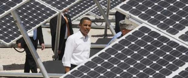 Beyaz Saray'a güneş enerjisi
