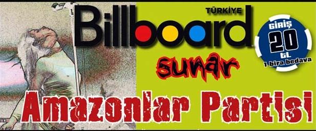 Billboard ile parti zamanı
