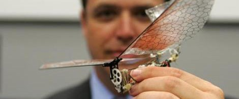 Bir avuca sığan casus robot