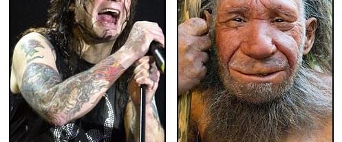 Bir Neandertal olarak Ozzy Osbourne
