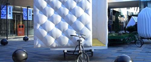 Bisikletle taşınabilen '3 kişilik' ev