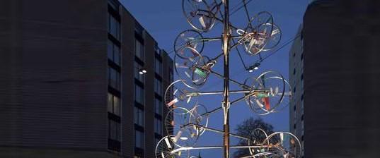 Bisikletten yeni yıl ağacı olur mu?