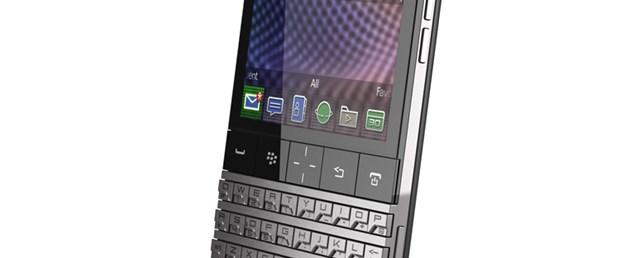 BlackBerry'ye Porsche dokunursa...