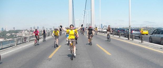 Boğaz'da bisiklet şenliği