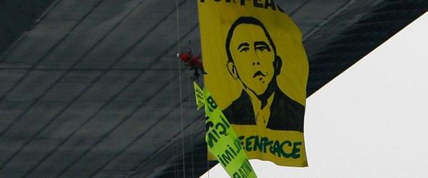 Boğaziçi Köprüsü'nde Greenpeace eylemi