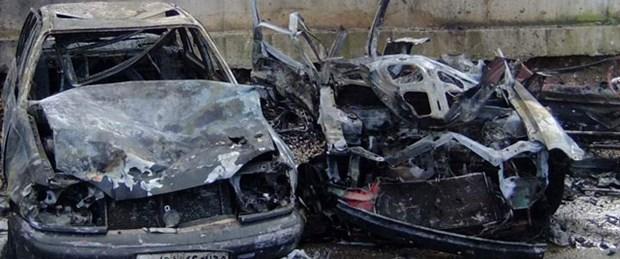 Bombalı aracın Türkiye'de kaydı çıkmadı
