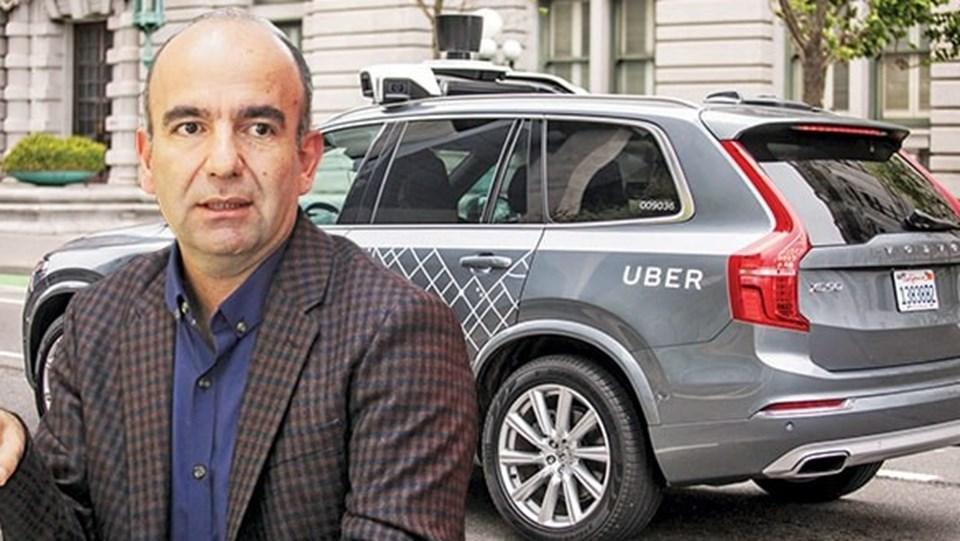 """ABD'nin """"DMV"""" (DC bölgesi, Maryland ve Virginia eyaletleri) olarak adlandırılan bölgede Uber şoförlüğü yapan Bilici'ye tesadüfen Yavuz Atalay çağrıdabulundu."""