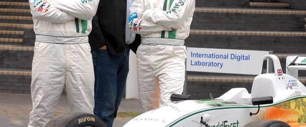Bu Formula 3 arabası çevre dostu