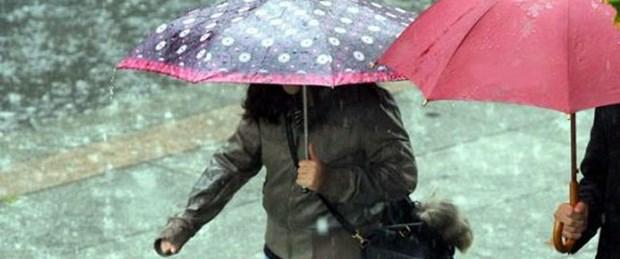 Bugün şemsiyesiz dışarı çıkmayın