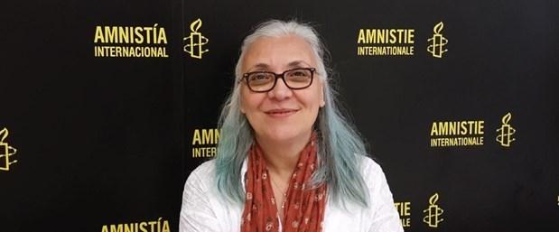 Gözaltına alınanlar arasında Uluslararası Af Örgütü Türkiye Temsilcisi İdil Eser de bulunuyor.