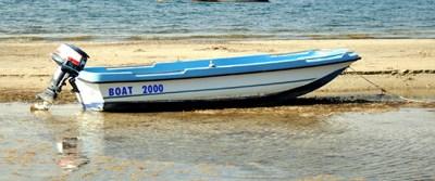 Çanakkale'de deniz suyu çekildi