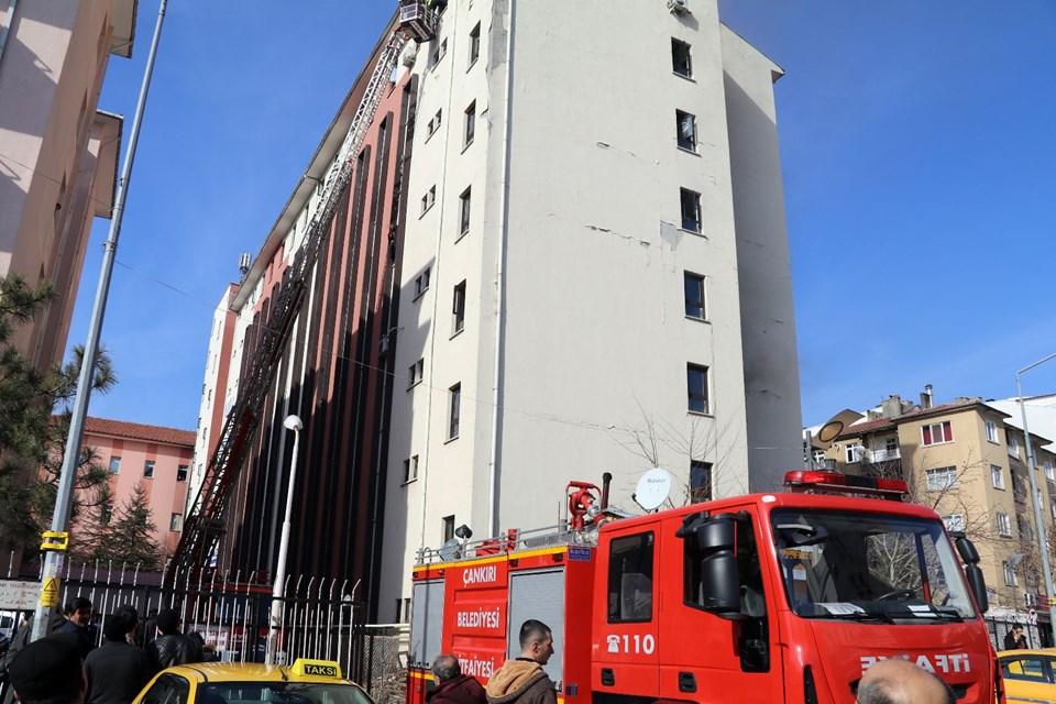 Çankırı Karatekin Üniversitesinde Yangın ile ilgili görsel sonucu