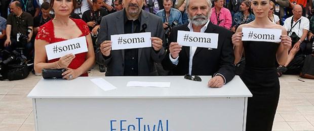 Cannes'da Soma mesajı