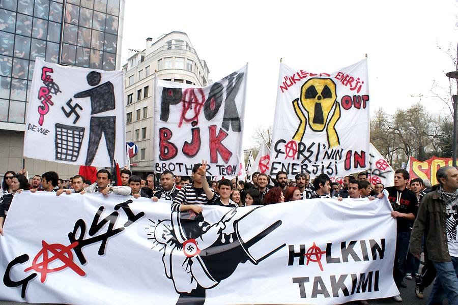 Çarşı Taksim'e damgasını vurdu