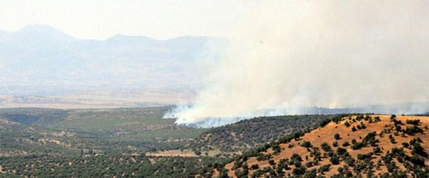 Çatışma bölgesinde yangın devam ediyor