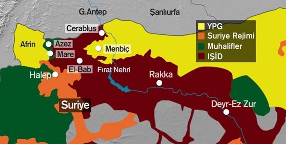 Cerablus Yerel Konseyi, Özgür Suriye Ordusu'ndan Türkiye sınırı yakınlarındaki kenti IŞİD'den almasını istemişti.