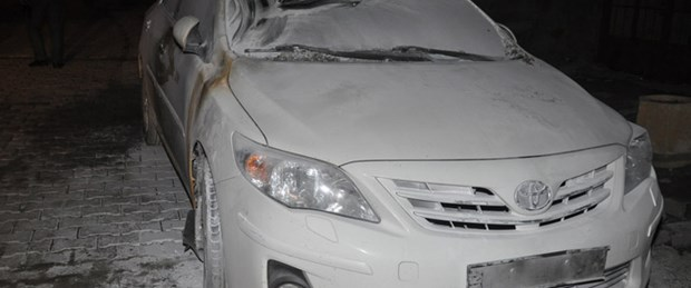 CHP il başkanının aracı kundaklandı