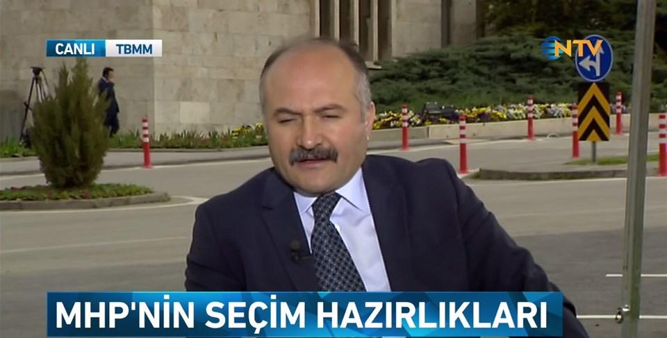MHP Grup Başkanvekili Erhan Usta