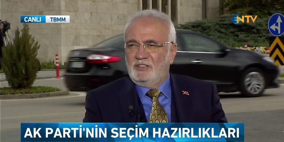AK Parti Grupbaşkanvekili Mustafa Elitaş