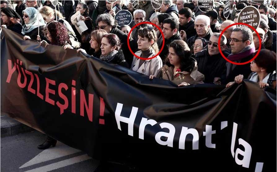 Gazeteci Hrant Dink'in 8. ölüm yıldönümü dolayısıyla düzenlenen yürüyüşe, CHP'nin genel başkan yardımcıları Şafak Pavey ve Sezgin Tanrıkulu da katılmıştı.