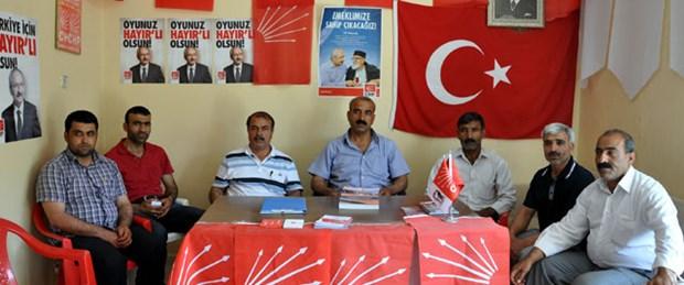 CHP'de 'çözüm süreci' istifası