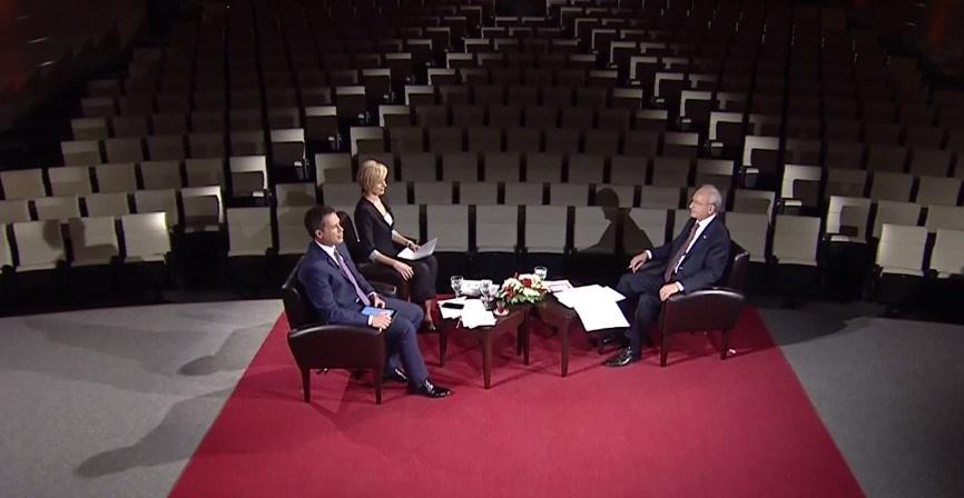 CHP Genel Başkanı Kemal Kılıçdaroğlu, NTV canlı yayınında Ahmed Arpat ve Seda Öğretir'in sorularını yanıtladı.