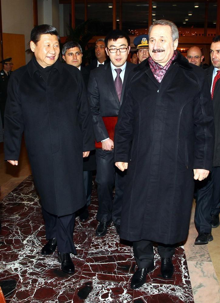 Çin'in müstakbel lideri Ankara'da