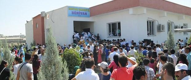 Cizre'deki okul da kapatıldı