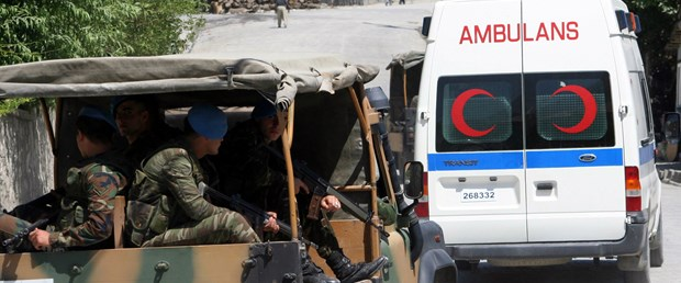 Çukurca'da askeri birliğe saldırı: 6 şehit