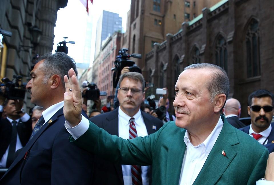 Erdoğan, New York'ta