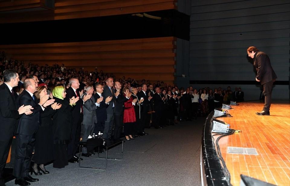 Cumhurbaşkanı Erdoğan, Fazıl Say konserini izledi (Geceden fotoğraflar)
