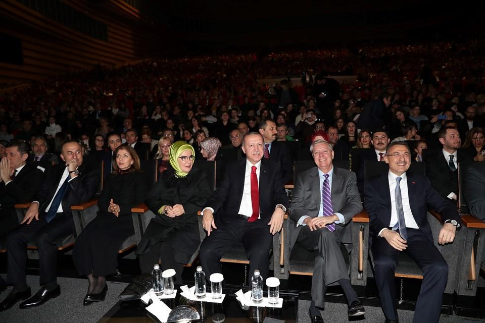 Cumhurbaşkanı Erdoğan, Fazıl Say konserini izledi