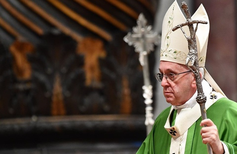 Cumhurbaşkanı Erdoğan 5 Şubat'ta Katoliklerin dini lideri Papa Francis'le Vatikan'da görüşecek.