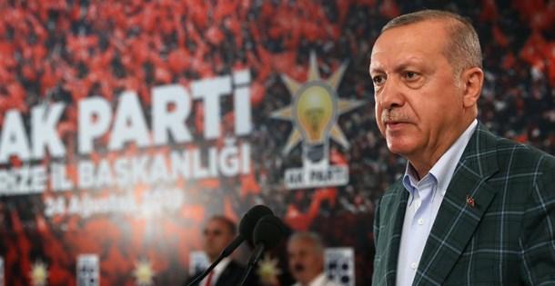 Cumhurbaşkanı Erdoğan: Seçilmiş olmak hiç kimseye suç işleme özgürlüğü tanımaz