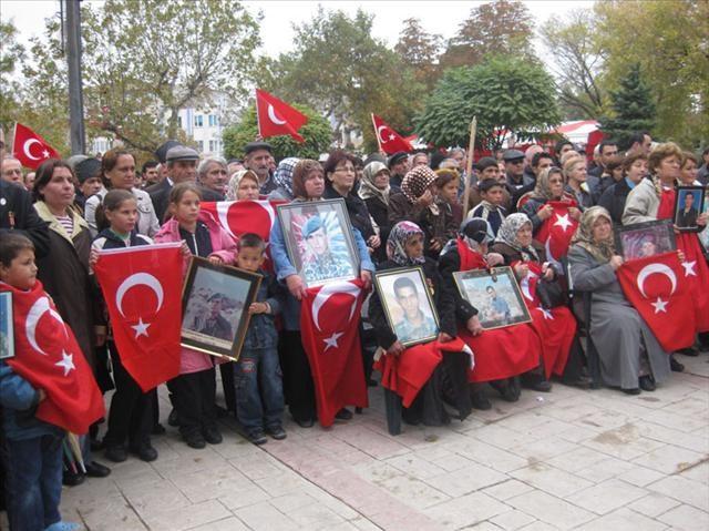 Dağdan dönüşler protesto edildi