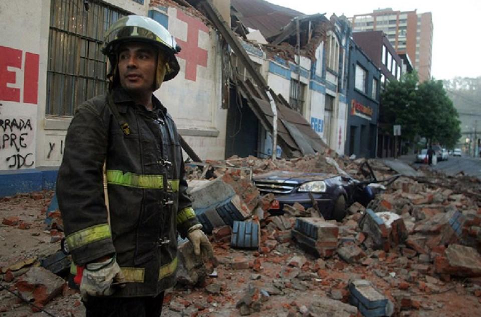 Şubat ayı başında Şili, 8.8 büyüklüğünde bir depremle sarsılmıştı.