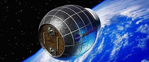 Derin Uzay'da kullanılacak 'balon ev'