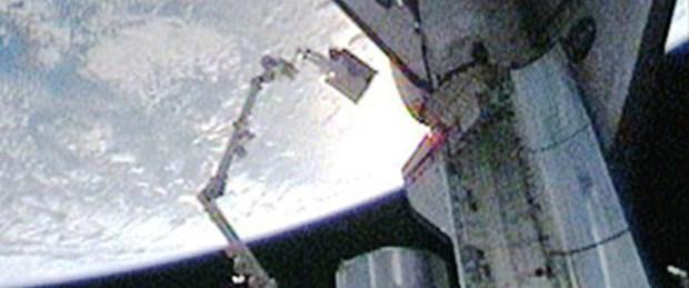 Dev amonyak tankı UUİ'ye monte edildi