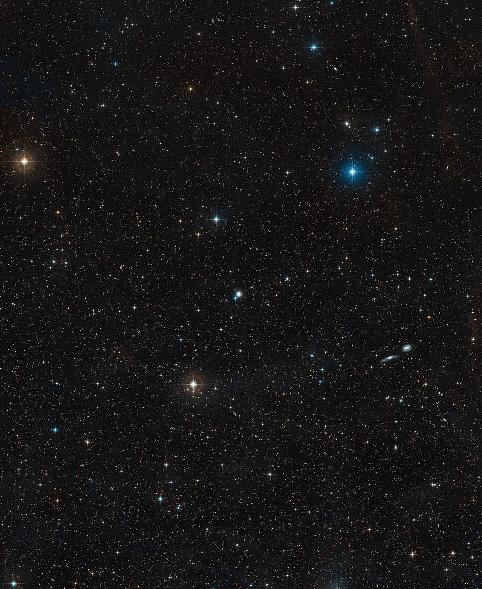 NGC 3783galaksisi (büyütmek için tıklayın).