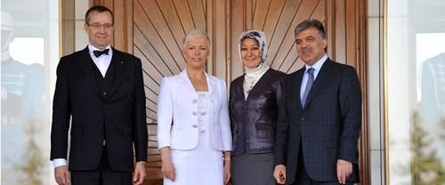 Devlet başkanı İstanbul'da mahsur kaldı