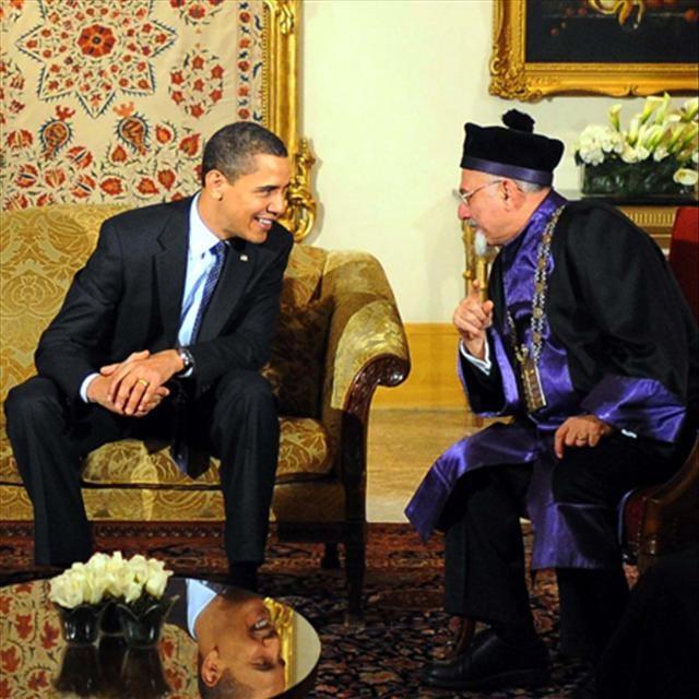 Dini liderlerle görüşme