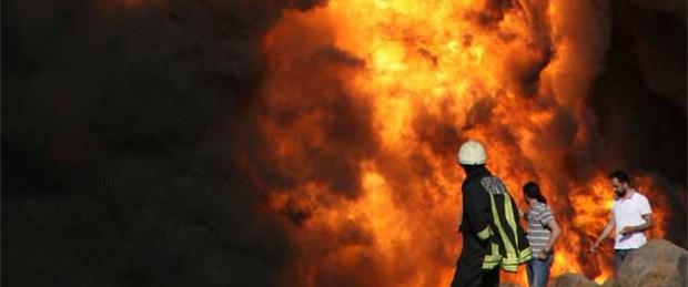 Diyarbakır'da boru hattında patlama