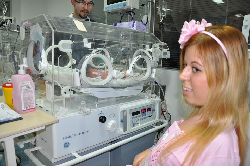 Nevin Öztürk'ün 32 haftadır devam eden gebeliği, doktoru tarafından fazla riske edilmedi