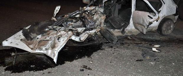 Düğün yolunda kaza: 5 ölü