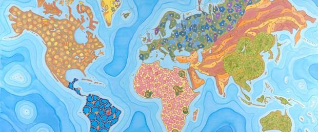 Dünyanın 'mikroskobik ölüm' haritası