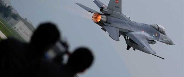 Düşen F-16'nın pilotu şehit oldu