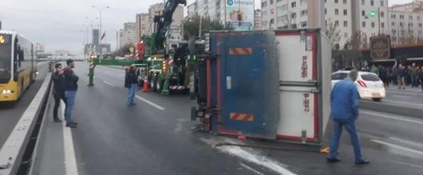 edirne yönü kamyon kazası.jpg