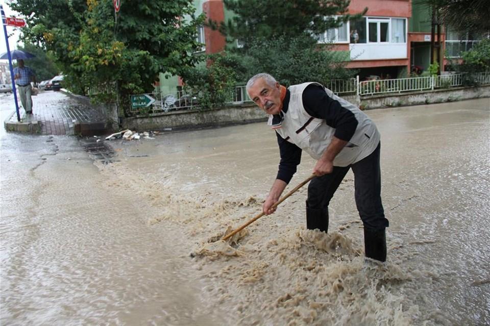 Edirne'de sel baskını