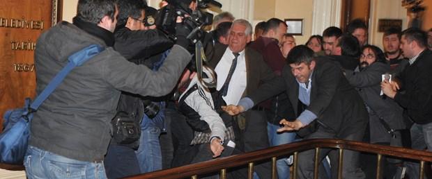 Edirne'de ulaşım zammı protestosunda arbede