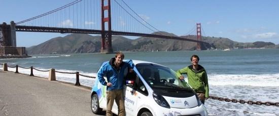 Elektrikli araba ile dünya turu